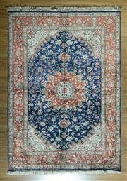 Sale 8680C - Lot 50 - Super Fine Persian Silk Qum 193cm x 140cm