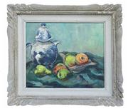 Sale 8828B - Lot 73 - Emile Perremans (1915 - 1999) Belgium impressionist - Kitchen Still Life 37 x 45 cm