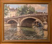 Sale 8313A - Lot 44 - Will Ashton - Le Pont Louis Phillipe, Paris 36 x 44cm