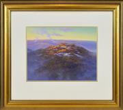 Sale 8323A - Lot 2 - David Brayshaw (1960 - ) - Round Mountains, Kosciuszko 32 x 42cm