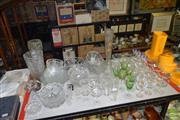 Sale 8509 - Lot 2325 - Collection of Glassware