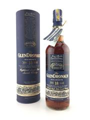 Sale 8571 - Lot 722 - 1x Glendronach 18YO Allardice Highland Single Malt Scotch Whisky - in canister