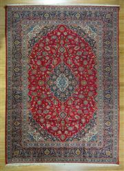 Sale 8643C - Lot 10 - Persian kashan 380cm x 270cm