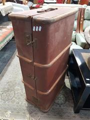 Sale 8863 - Lot 1093 - Timber Bound Trunk