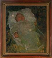 Sale 8994H - Lot 63 - Emanuel Phillips-Fox - Père Rivarts grand daughter, circa 1905/1906 50 x 43cm