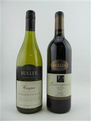 Sale 8353A - Lot 843 - 12x Buller Wines, Rutherglen - 6x 2003 Beverford Shiraz, 6x 2005 Caspia Chardonnay
