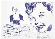 Sale 8492A - Lot 5050 - David Bromley (1960 - ) - Boy and Bouy 21 x 30cm
