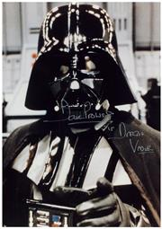 Sale 8555A - Lot 5034 - David Prowse Darth Vader