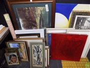 Sale 8557 - Lot 2098 - Collection of Prints & Artworks, Various Sizes