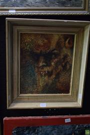 Sale 8569 - Lot 2035 - Ian Hassall (1899 - 1970) - Satyr 29 x 24cm