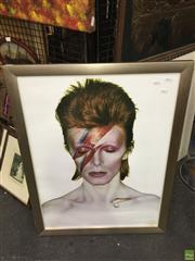Sale 8622 - Lot 2184 - David Bowie Star Man Print