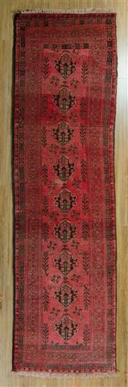Sale 8717C - Lot 50 - Afghan Qunduzi 289cm x 83cm