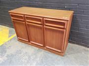 Sale 9022 - Lot 1034 - Parker Double Sided Sideboard (h:77 x w:119 x d:45cm)