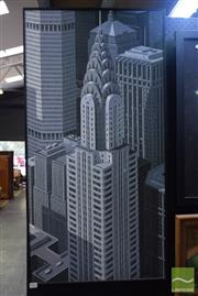 Sale 8541 - Lot 2069 - Gotham City Print