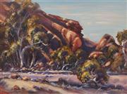 Sale 8663 - Lot 2001 - Alan Grosvenor (1925 - ) - Shadows, Chalmers Gorge 29.5 x 39.5cm