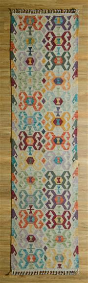 Sale 8680C - Lot 52 - Persian Kilim Runner 298cm x 74cm