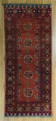 Sale 8717C - Lot 51 - Afghan Qunduzi 150cm x 67cm