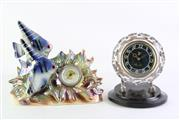 Sale 8860V - Lot 35 - USSR Made Clock Together With a Fish Themed Example