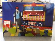 Sale 8407T - Lot 2019 - Roy Maloy - Cedar Puppets, 2013 50.5 x 76cm