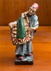 Sale 8313A - Lot 47 - A Royal Doulton figure Carpet Seller, HN 1464, height 22.5cm