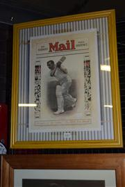 Sale 8410T - Lot 2082 - Don Bradman Poster