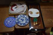 Sale 8518 - Lot 2314 - Collection of Sundries & Ceramics Incl Clown Picture and Royal Plate
