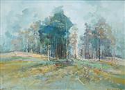 Sale 8549 - Lot 508 - Ken Strong (1960 - ) - Landscape - Annihilation 59 x 74cm