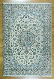 Sale 8643C - Lot 13 - Super Fine Persian Nain Silk Inlaid 303cm x 203cm