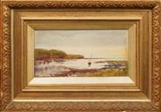 Sale 8655 - Lot 2043 - Artist Unknown (C20th) - Calm Harbour 16 x 31cm