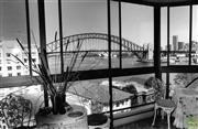 Sale 8721A - Lot 78 - Artist Unknown - Harbour Bridge view from McMahon Point, 1986 16 x 24cm