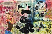 Sale 8301A - Lot 55 - INDO (1982 - ) - Felix and Friends 61 x 91cm