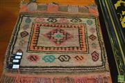 Sale 8386 - Lot 1017 - Persian Saddle Bag (97 x 43cm)