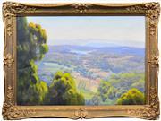 Sale 8408 - Lot 559 - Ernest Buckmaster (1897 - 1968) - Lake Eildon 64.5 x 93cm