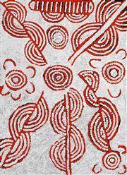 Sale 8633A - Lot 5073 - Glenys Gibson Nungurrayi (1968 - ) - Womens Ceremony 97 x 71cm