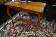 Sale 8507 - Lot 1065 - Carved Timber Occasional Table
