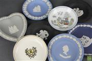 Sale 8604W - Lot 80 - Collection of Small Dishes (8)