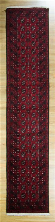 Sale 8643C - Lot 14 - Afghan Turkman 380cm x 82cm