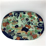 Sale 8739C - Lot 59 - Large Imari Meat Platter