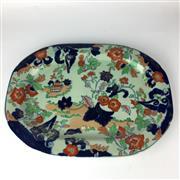 Sale 8739C - Lot 59 - Large Imari Meat Platter