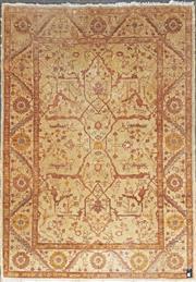 Sale 8787 - Lot 1022 - Indian Silk & Wool Blend Rug (253 x 180cm)