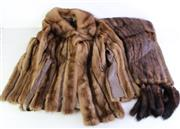Sale 8985 - Lot 42 - A Cornelius studio design Sydney fur coat together with a Heilman Sydney stole