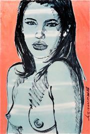 Sale 9021 - Lot 535 - David Bromley (1960 - ) - Caroline 76 x 50 cm