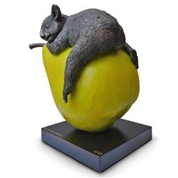 Sale 9161A - Lot 5037 - GILLIE AND MARC - Koalas will pear for love 36 x 37 x 24 cm