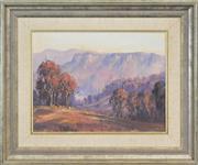 Sale 8301A - Lot 18 - Allan Fizzell (1944 - ) - Summer Evening, Capertee 29 x 40cm