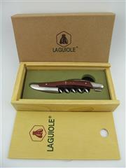 Sale 8367 - Lot 703 - 1x Laguiole Wood Handled Corkscrew - in gift box