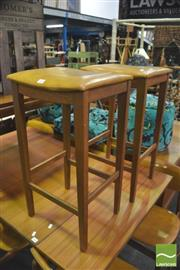 Sale 8392 - Lot 1083 - Pair of Parker Barstools