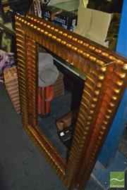 Sale 8425T - Lot 2057 - 2 Large Ornate Modern Gold Frames