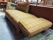 Sale 8451 - Lot 1046 - Early Parker Knoll Extending Chaise