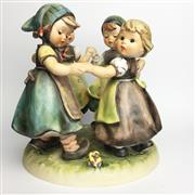Sale 8456B - Lot 1 - Hummel Figure Group Ring-Around-a-Rosie