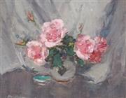 Sale 8771 - Lot 2005 - Allan Hansen (1911 - 2000) - Spring Roses 34.5 x 44.5cm
